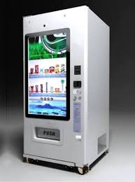 Vending Machine Touch Screen Interface