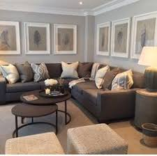 All Grey Living Room Idea- Home Decor- Sectional Grey Couch