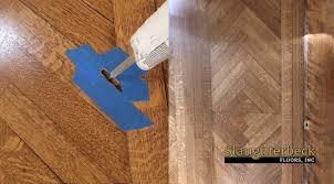 repair large hole in wood floor a