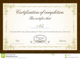 Free Editable Certificates Templates Under Fontanacountryinn Com