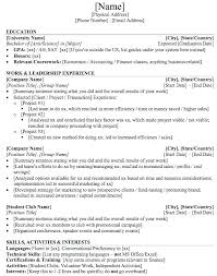 Mergers And Inquisitions Resume Template