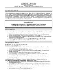 Resume For Bank Manager Position Sidemcicek Best Resume For