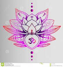 покрашенная стильная восточная татуировка градиент цвета