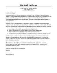 Cover Letter For Executive Director The Letter Sample