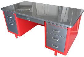 office desk metal. Vintage Steel Tanker Desks Office Desk Metal N