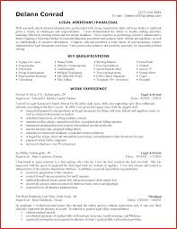 Objective For Paralegal Resume Best Sample Entry Level Cover Letter
