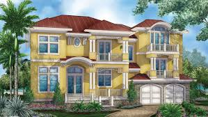 Story House Plans   BuilderHousePlans comMediterranean Modern Style House   Plan HWBDO   Story