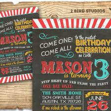 circus invitation carnival party invitation chalkboard circus birthday invitation diy printable invitation