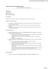 Construction Worker Objective For Resume Resume Sample For Construction Worker Proyectoportal Aceeducation 9