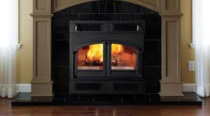 image of zero clearance fireplace for a large room