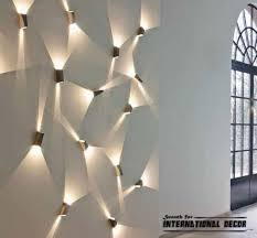 cool wall lighting. Wall Lights Decor Contemporary Lighting Ideas And Lamps Best Concept Cool