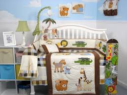 image of beautiful baby boy crib bedding sets design