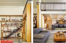 In this loft, the designer chose a minimalist ...