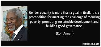 Gender Equality Quotes Gender Equality Quotes Classy Gender Equality Is More Than A Goal In 39