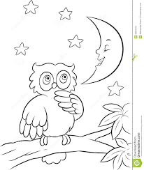 Owl Moon Coloring Pages Printable Coloring Page For Kids