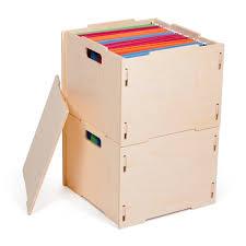 hanging file box. Modern Wood Hanging File Boxes Box