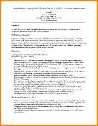 marketing resume sample sample resume example 4 sales - Sample Sales And Marketing  Resume