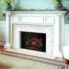 faux fireplace inserts diy insert artificial flame woodland electric