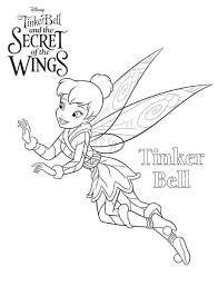 Tinkerbell Secret Of The Wings Kleurplaat Jouwkleurplaten