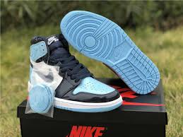 air jordan 1 retro high og unc patent leather obsidian blue chill white uk
