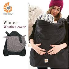 Baby Carrier Winter Cover Winter Weather Cover Black Hug Gimp Winter ...