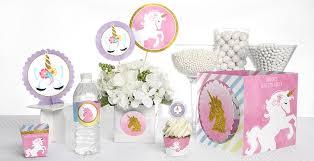 ... Rainbow Unicorn - Baby Shower Theme