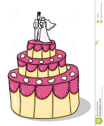 Wedding Cake Illustration Stock Illustration Illustration Of Cartoon Wedding Cake