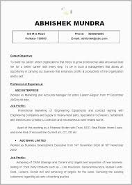 Profile Part Of A Resume Example Free Download