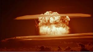 Recently declassified footage ,you can see how powerful of hydrogen bomb !bravo was accidently the largest ever test. Those Who Witnessed Castle Bravo Looked Into Armageddon By Paul Richard Huard War Is Boring Medium