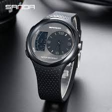 SANDA Waterproof Men Wristwatch Popular Fashion Multi function ...