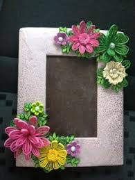 Paper Quilling Flower Frames 45 Best Quilled Photo Frames Images Quilling Papercraft Quilling