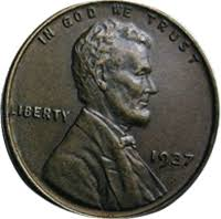 1937 Wheat Penny Value Cointrackers