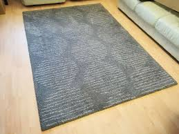 details about ikea grey lillerod rug high pile beige 160 x 230 cm used in great condition