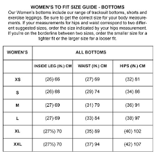 Training Pants Size Chart Invincible Womens Cotton Fitted Training Pants