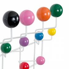 Coloured Ball Coat Rack White Eames Hang It All With Multicoloured Balls Cult Furniture 37