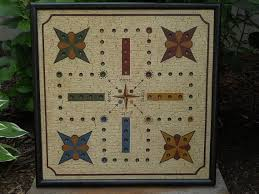 Wooden Aggravation Board Game 100 Aggravation Primitive Wood Frustration Game Board Folk 89