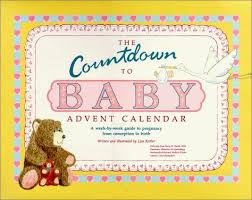 Baby Countdown Calendar 9780962984808 Title The Countdown To Baby Advent Calendar