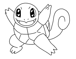 Pokemon Drawing And Coloring 05 Squirtle Bulbasaur Migliori Pagine