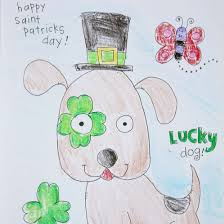 See if you can find the four leaf clovers. St Patrick S Day Coloring Pages Craftgawker