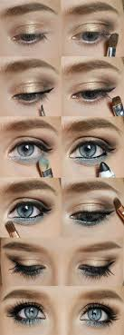 wedding makeup ideas use a diffe color shadow on lower line for diffe coloured eyes my style wedding makeup makeup ideas and
