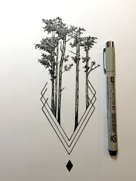 tree drawing tumblr. Perfect Drawing Daily Drawings By Derek Myers And Tree Drawing Tumblr E