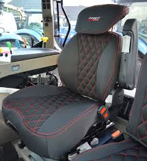 case ih tractor tailored seat covers for grammer seat and passenger side seat