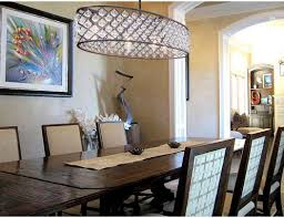 oval chandeliers for dining room include thorough cassiel 30 inch oval crystal chandelier oil rubbed bronze