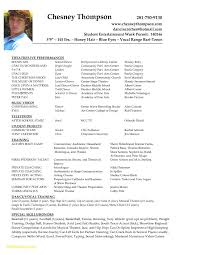 Theater Resume Template Best Of 28 Acting Resume Templates Free Free