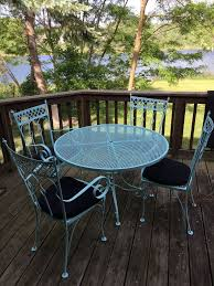 deck wrought iron table. Wrought Iron Table Deck Wrought T