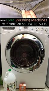 How to Clean Washing Machines with Baking Soda & Vinegar (Front Load and  Top Loading) | Washing machine, Baking soda and Washer