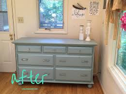 painting pine furniture after shot