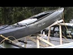 √ Diy Kayak Rack.pickup Truck. - Youtube inside Kayak Racks For ...