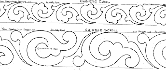 Scroll Border Designs