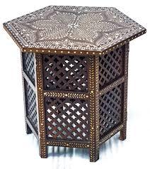 Indian Style Coffee Table Indian Bone Inlay Coffee Table Coffee Addicts
